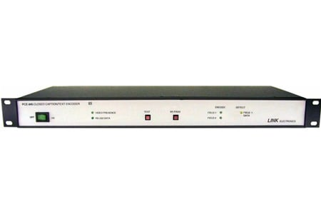 Link Electronics PCE-845 Closed Caption Encoder
