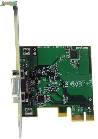 Matrox PCIE-ADP MXO2 PCIe Host Adapter For Mac Pro