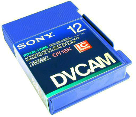 Sony Metal DVCAM Tape with Chip 32 Minute