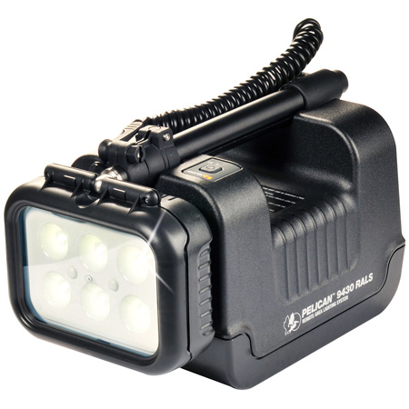 Pelican 9430 12V Rechargeable Remote Area Lighting System Black