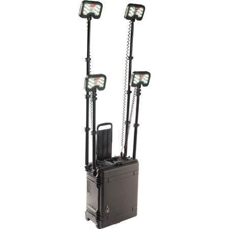 Pelican 9470 Remote Area LED Lighting System with Black Case