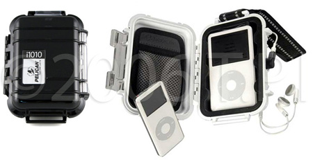 Pelican 1010 iPod Case (White)