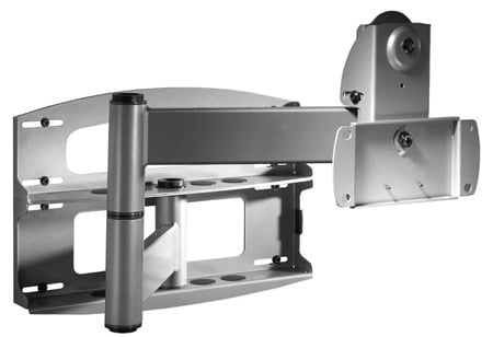 Peerless-AV PLA60 Articulating Wall Arm for 37in- 60in Flat Panel Screens Weighing Up to 175 lb