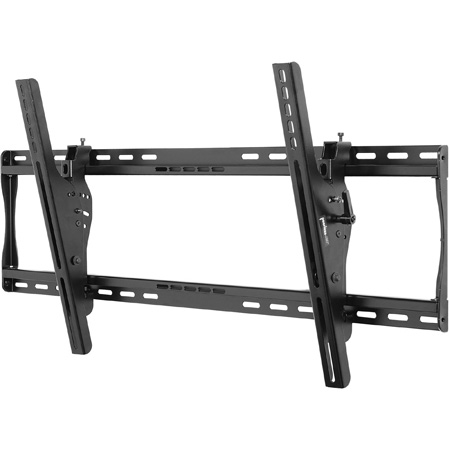 Peerless ST660 Universal Tilt Wall Mount for 39-80 in. Displays - Security Model - Black
