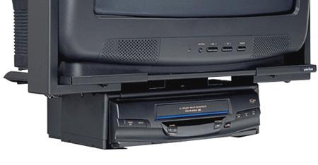 Peerless-AV VPM25-W DVD/VCR Mount Bracket for Slimline Mounts