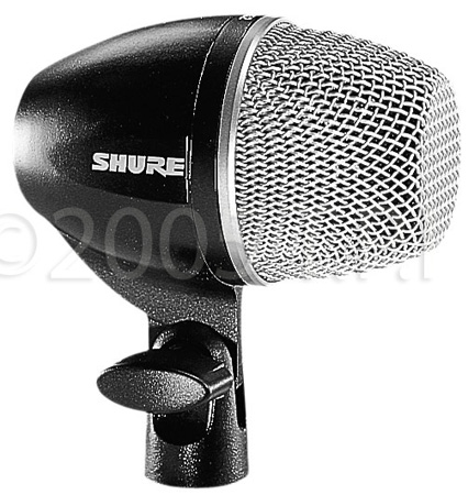 Shure PG52-LC Cardioid Dynamic Kick Drum Microphone without Cable