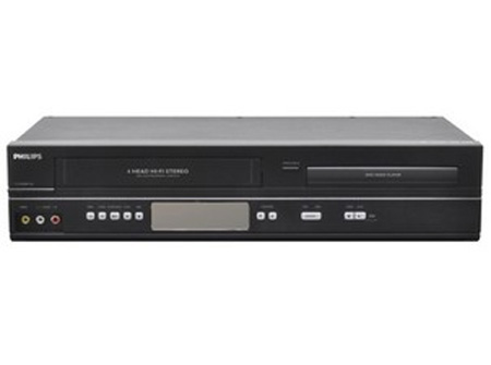 Philips DVP3345VB/F7 DVD/VHS Combo Player Progressive Scan
