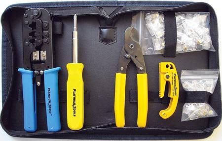Platinum Tools 90109 All-In-One Modular Plug Termination Kit