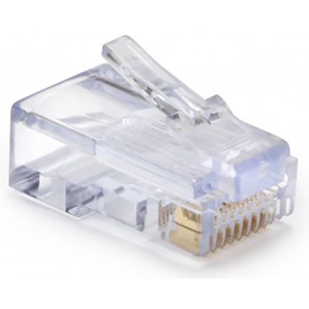 Platinum Tools EZ-RJ45 CAT5/5e Connectors Pack of 50 Clamshell