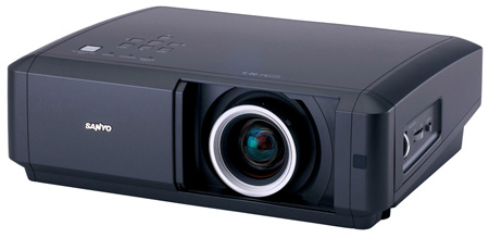Sanyo PLV-Z60 WXGA 720P 16:9 Wide-Video Home Entertainment Projector