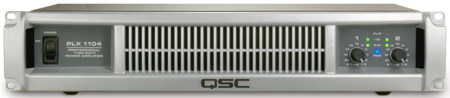 QSC PLX1104 PLX2 Series Amp 550 Watt @ 4 Ohms w/Speakon Connectors