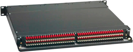 ADC-Commscope PPA1-14MKIIHN ProPatch QCPII 1RU 2x24 Longframe Audio Patchbay Half Normals