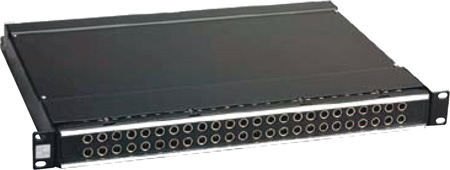 ADC-Commscope PPA1-14MKIVNS ProPatch 1RU 2x24 Longframe Audio Patchbay Normals Strapped
