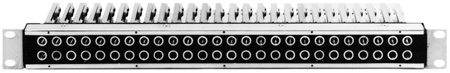 ADC-Commscope PPA1-26 Pro Patch LiADC-Commscope 1RU 2x26 Longframe Audio Patchbay