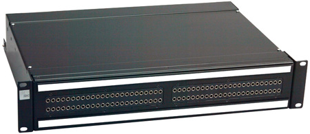 ADC-Commscope PPA3-14MKII26NO ProPatch QCP II 2RU 2x26 Longframe Audio Patchbay Normals Out