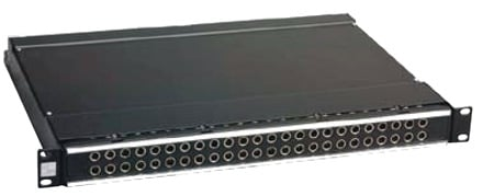 ADC-Commscope PPA3-14MKIINS ProPatch QCP II 2RU 2x24 Longframe Audio Patchbay Normals Strapped