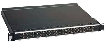 ADC-Commscope PPA3-14MKIVNO ProPatch 2RU 2x24 Longframe QCPIV Audio Patchbay Normals Out