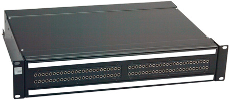 ADC-Commscope PPB3-14MKII3ENS 2RU 2x48 Bantam EDAC 3-Pin Audio Patchbay Normals Strapped