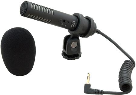 Audio-Technica PRO24-CM X-Y Shotgun Stereo Condenser Camcorder Microphone