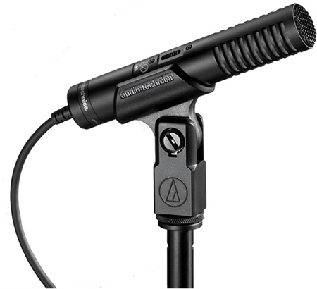 Audio-Technica Pro 24 Stereo Condenser Microphone for Low Impedance Inputs