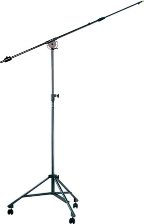 Quick Lok Boom Stand w/ Casters 53-1/2in - 91-1/2in H