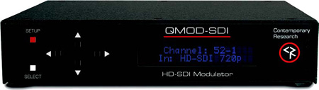 Contemporary Research QMOD-SDI HD-SDI Modulator