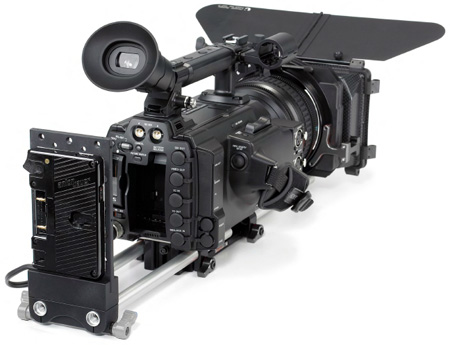 Anton Bauer QRC-DUAL PT Gold Mount for Sony PMW-F3 and AJA Ki Pro Mini