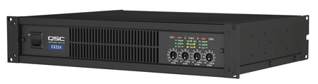 QSC CX204V 4 Channels Power Amplifier (200 watts/ch at 70V)