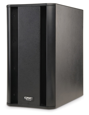 QSC KSUB 2-way Powered Loudspeaker Sub with Dual 12in Drivers 1000w