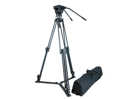 Autocue CS-HWT/001 Heavy Weight Tripod w/ Carry Case