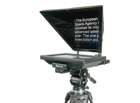 Autocue SSP10 Lite 10inch Lite Teleprompter w/ QStart Software