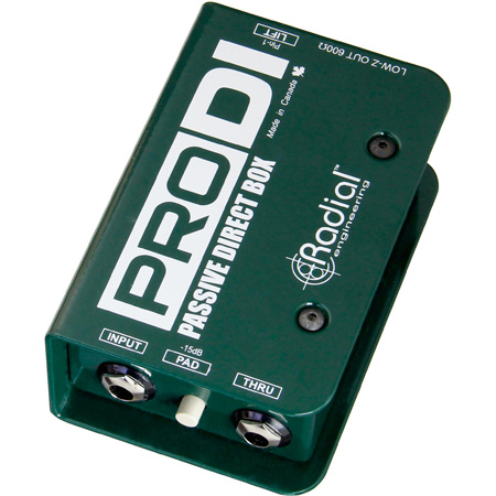 Radial - ProD2 - Full Range Passive Direct Box (2 Channels)