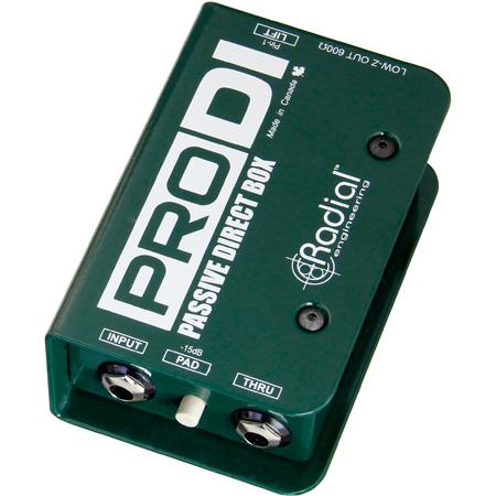 Radial - ProDI - Full Range Passive Direct Box