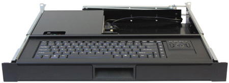Recortec RMK-470/32 1U Compact Keyboard with Computer - Touchpad