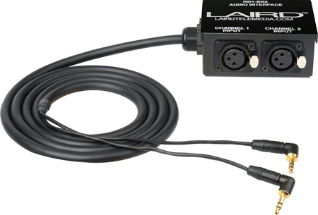 Laird RD1-BX2 RED Epic/Scarlet 3.5mm to Full-Size XLR Audio Interface