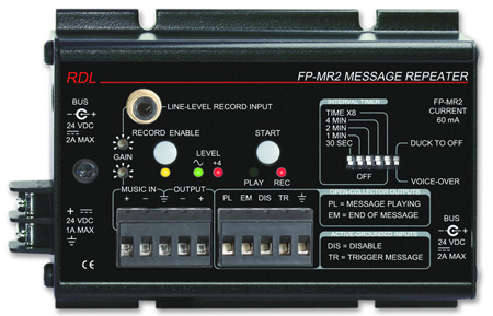 Radio Design Labs FP-MR2 Message Repeater