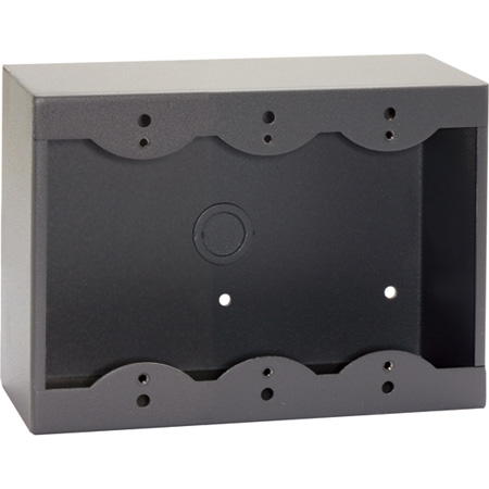 RDL SMB-3G 3-Gang Surface Mount Box for Decora Remote Controls and Panels Gray