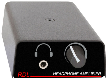 RDL TP-HA1A Format-A Stereo Headphone Amplifier