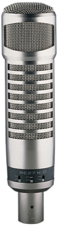 Electro-Voice RE27N/D Variable-D Dynamic Cardioid Vocal & Broadcast Microphone