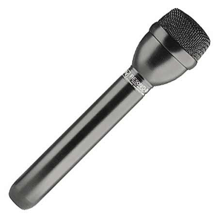 E-V Shock-Mounted Dynamic Omnidirectional ENG Microphone Black