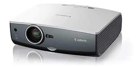 Canon REALiS SX80 Multimedia Projector  SXGA 3000 ANSI Lumens