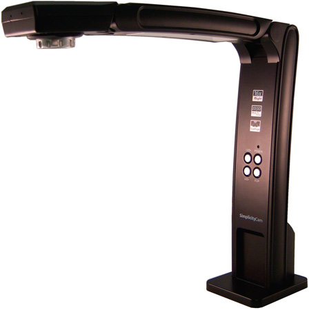 Recordex SC5i Simplicity 5 12.5 x 16.5 Document Camera with 16x Digital Zoom