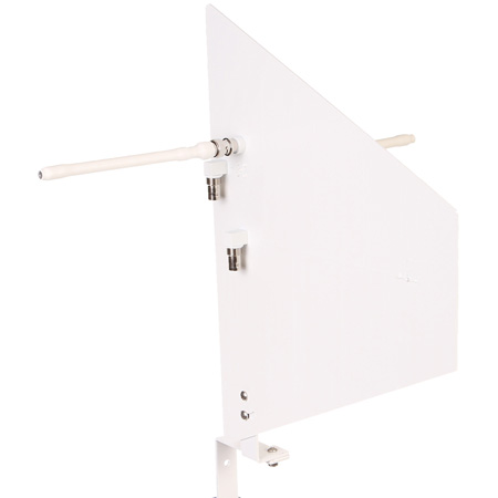 RFvenue Diversity Fin Medium Range Remote Antenna System - White
