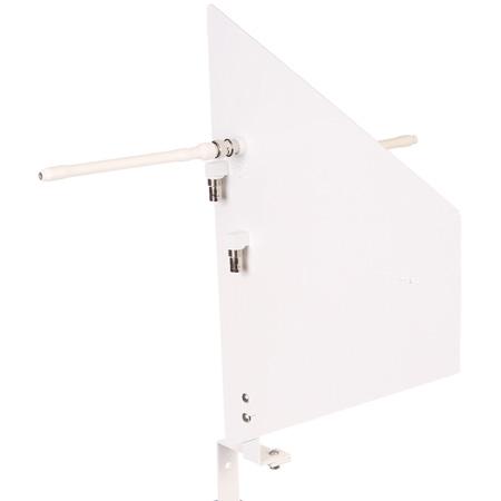 RF Venue Diversity Fin Medium Range Remote Antenna System - White