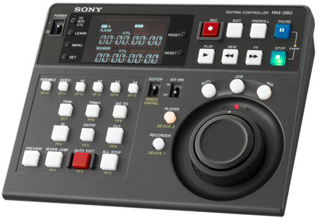 Sony RM280 Remote Edit Controller for Sony Professional Video