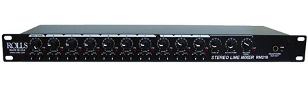 Rolls RM219 Stereo Line Mixer