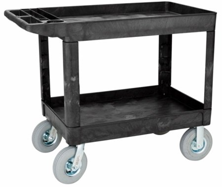 Rubbermaid 4520-10 Plastic Film/Video Camera Cart With 8in Pneumatic Wheels