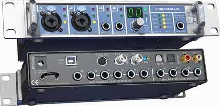 RME FireFace UC 36-Channel 24-Bit/192kHz USB Audio Interface