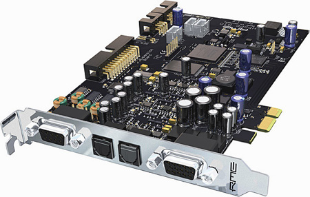 RME HDSPe AIO 38-Channel 24-bit/192kHz PCI Express Card