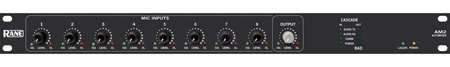 Rane AM2 8 Channel Gain Sharing Automatic Mic Mixer